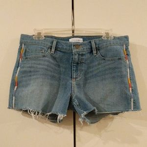 LOFT Cutoff Denim Shorts